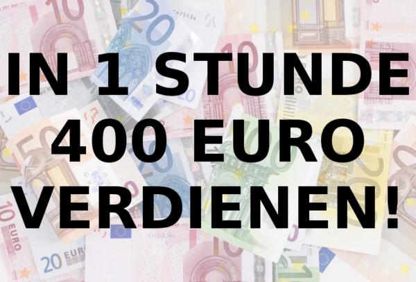 geld verdienen im internet 400 euro mit nur 1 stunde arbeit master lizenz ebay. Black Bedroom Furniture Sets. Home Design Ideas