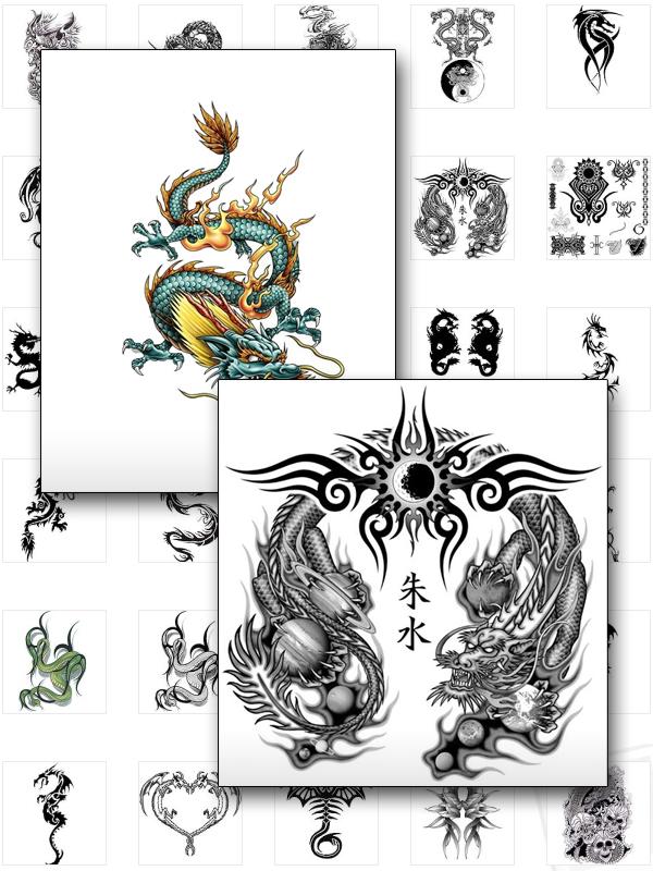 vorschau drachen tattoos